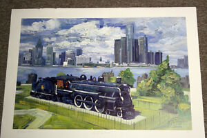 """The Spirit of Windsor"" Ltd. Ed. Lithograph Print *NEW PRICE* Windsor Region Ontario image 5"