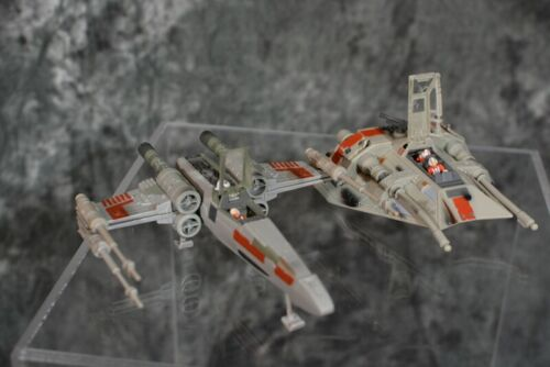 Star Wars Action Fleet X-WING FIGHTER & SNOWSPEEDER With FIGURES