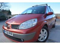 RENAULT GRAND SCENIC DYNAMIQUE 1.6 VVT 7 SEATER MPV*LOW MILEAGE*FULL MOT*