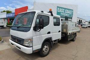 MITSUBISHI CANTER FE85 ** DUALCAB ** TIPPER ** #5029 Archerfield Brisbane South West Preview