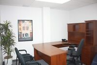 Fully Furnished, Downtown Office Space with Convenient Parking
