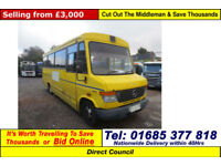 2006 - 56 - MERCEDES VARIO MELLOR BODY 17 SEAT DISABLED ACCESS PTS BUS C/W LIFT