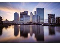 MOVE IN TODAY...SPACIOUS ONE BEDROOM APARTMENT MOMENTS FROM CANARY WHARF!! SHORT LET ONLY!!