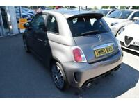 2015 Abarth 500 1.4 T-Jet 3dr Petrol grey Manual