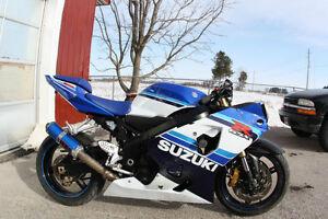 2005 Suzuki GSX-R 600 Parts Bike London Ontario image 1