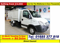 2008 - 58 - IVECO DAILY 50C15 5.2TON 3.0 KERBSIDE RECYCLER C/W TIPPING BODY