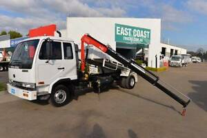 NISSAN UD MK240 ** TIPPER ** CRANE TRUCK ** #4868 Archerfield Brisbane South West Preview