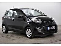 2013 Kia Picanto 2 Petrol black Manual