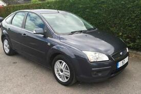 2007 - 57 Ford Focus 2.0TDCi 135 Ghia ** FULL BLACK LEATHER ** 70k FSH