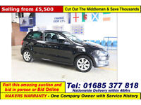 2014 - 14 - VOLKSWAGEN POLO MATCH EDITION 1.2TDI 3 DOOR HATCHBACK (GUIDE PRICE)