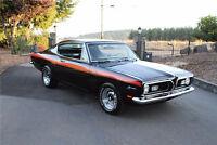 1967-1969 Plymouth Barracuda