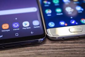 SAMSUNG GALAXY S 7 EDGE AND S 8 WANTED !!!!