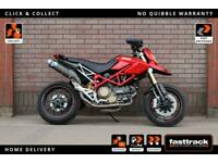 DUCATI HYPERMOTARD 1100 S 2009 09 - FULL SERVICE HISTORY - 6 STAMPS