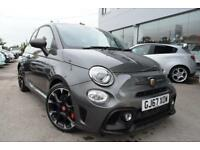 2017 Abarth 500 1.4 T-Jet Competizione 3dr Petrol grey Manual
