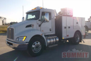 Brand New 2016 Kenworth with 11ft Summit Service Truck Body