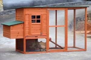 X-Large Ferret Rabbit Hutch Chicken Coop with Nesting Box and Run Oakleigh Monash Area Preview