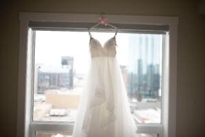 Beautiful White Wedding Dress - Size 8
