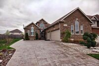 Beautiful Custom Built Bungalow With Triple Garage & Pool