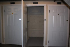 4 x 5 ft Self Storage Lockers for Rent - Minutes from Downtown