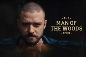 2 tickets  Justin Timberlake Section 105-H au $ COST/ COUTANT!