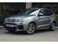 2016 BMW X3 XDRIVE30D M SPORT Auto Estate Diesel Automatic