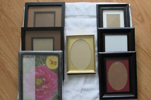 8 - Assorted Picture Frames