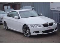 2012 BMW 3 Series 320 Convertible 2.0d 184 SS Sport Plus Edition 6 Diesel white