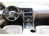 LHD LEFT HAND DRIVE Audi Q7 3.0TDI AUTOMATIC QUATTRO SAT NAV LEATHER REVERSE CAM