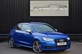 2016 Audi A1 S1 2.0 TFSI ( 231ps ) Quattro * Sepang Blue Pearl + Black Styling P