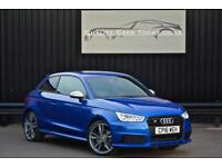 2016 Audi A1 S1 2.0 TFSI ( 231ps ) Quattro * Sepang Blue Pearl + Black Styling P