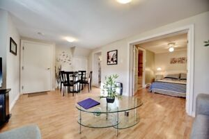 Apartment basement for rent in Pierrefonds, Montreal.