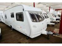 2007 Lunar Solaris 3 4 Berth Touring Caravan with Fixed Island Bed