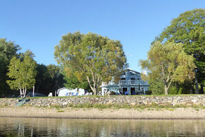 FIVE BEDROOM HOME & MORE ON THE OTTAWA RIVER WATERFRONT