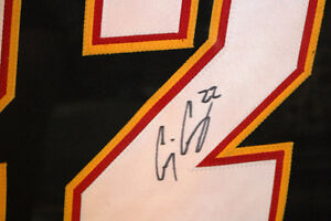 AUTHENTIC CRAIG CONROY #22 CALGARY FLAMES SIGNED FRAMED JERSEY Moose Jaw Regina Area image 5