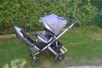 Poussette Uppa Baby double Vista 2012 avec TOUS les accesoires!