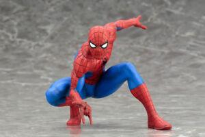 ARTFX + STATUE Spiderman The Amazing Spider-man Action Figures Model Figurines