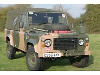 Land Rover Defender 110 2.5D Ex MOD Soft Top