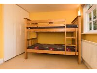 Pine Bunk Bed - Very Good Condition