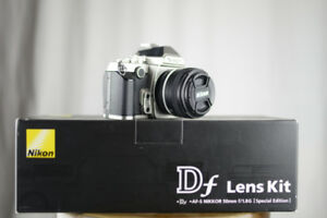 Nikon Df w/ 50mm 1.8 Limited Lens Package, 692 Shutter Fx Camera