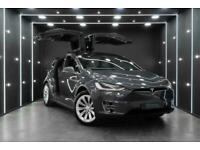 2017 Tesla Model X 100D Long Range Enhanced Autopilot Six Seats Hatchback Electr