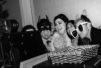 Photo Booth for weddings and other events - 2 hours for $280