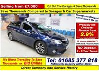 2014 - 63 - TOYOTA AVENSIS ICON 1.8 VALVEMATIC 5 DOOR ESTATE (GUIDE PRICE)