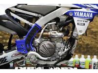 2017 YAMAHA YZF 250 MOTOCROSS BIKE RFX FLEXI LEVER SET, RENTHAL HANDLEBARS