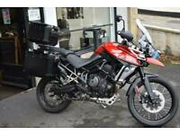 Triumph Tiger 800 XCA 3 box luggage and more