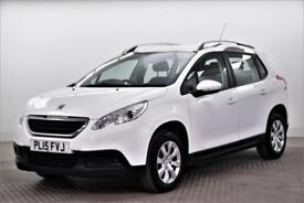 2015 Peugeot 2008 ACCESS A/C Petrol white Manual