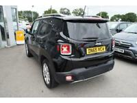 2015 Jeep Renegade 1.6 MultiJet II Limited (s/s) 5dr Diesel black Manual