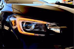 2015+ Subaru STI WRX C lights TRS morimoto c light led drl