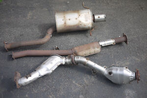 2007 STI OEM Exhaust - Turboback - Great working order