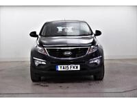 2015 Kia Sportage CRDI 1 ISG Diesel black Manual