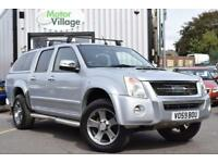 2009 59 ISUZU RODEO 3.0 TD DENVER MAX LE 1D AUTO 161 BHP.NO VAT ON THIS VEHICLE